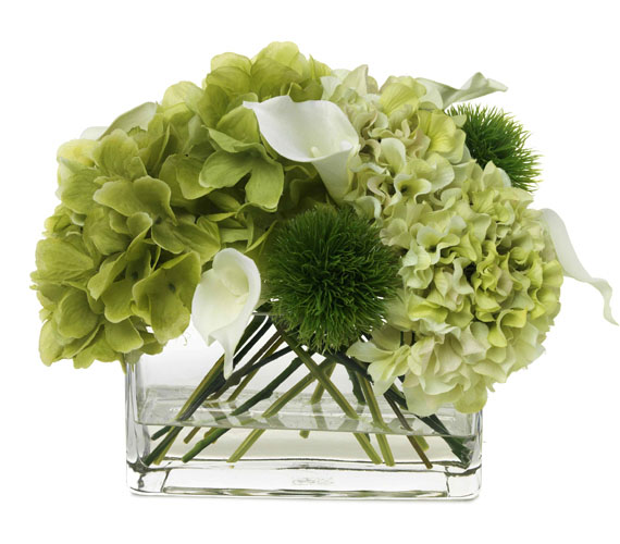 BLOOMS HYDRANGEA AND CALLA LILY BOUQUET