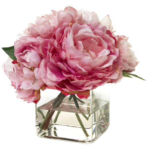 pink champagne peonies