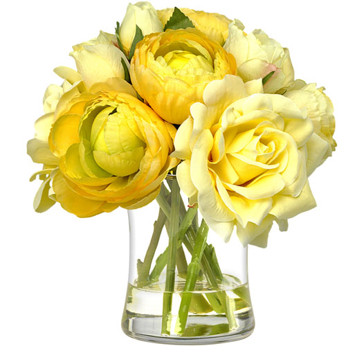 BLOOMS YELLOW ROSE BOUQUET