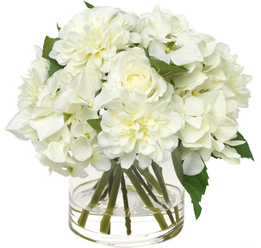 BLOOMS MIXED WHITE BOUQUET