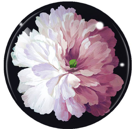 FRINGE STUDIO CLASSIC FLORAL DOME PAPERWEIGHT