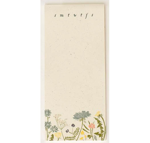 JUNE & DECEMBER MEADOW NOTEPAD