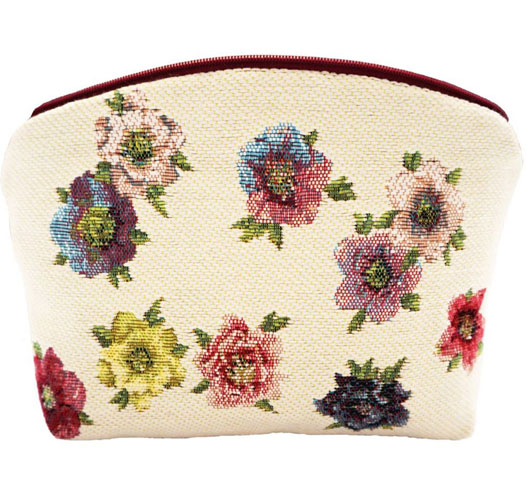 ART DE LYS HELLEBORES COSMETICS BAG