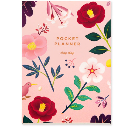 CLAP CLAP GARDEN BLOOM POCKET PLANNER