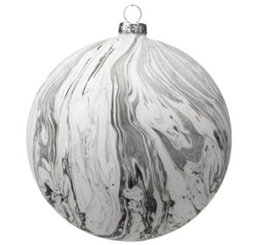 ZODAX MARBLE DESIGN ORNAMENTS / SET OF 4