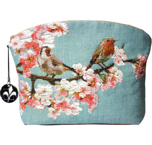 ART DE LYS LITTLE BIRDS COSMETICS BAG