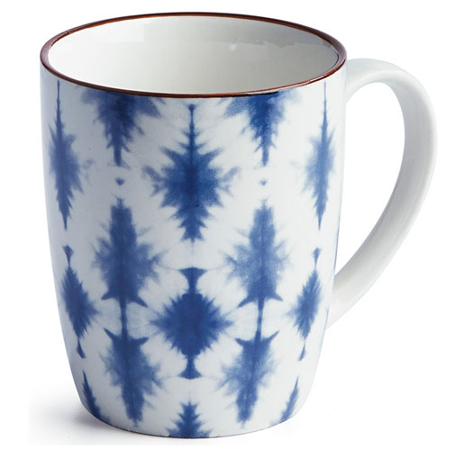 NAPA HOME & GARDEN INDIGO MUG / SET OF 4
