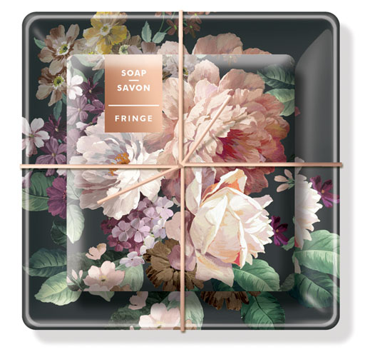 FRINGE STUDIO CLASSIC ROSE SOAP & TRAY