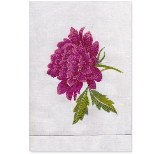 PEONY GUEST TOWEL