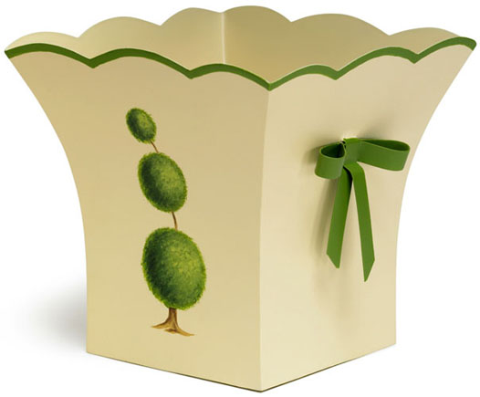 TOPIARY TOLE PLANTER