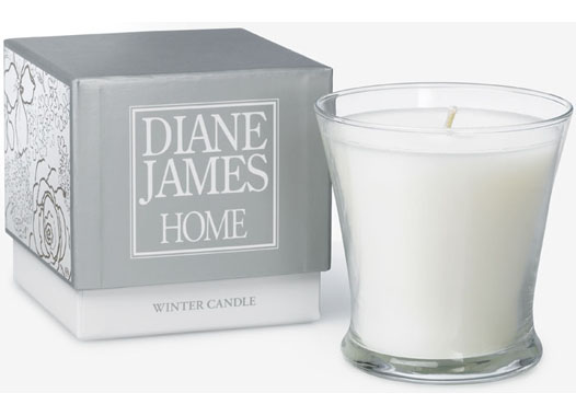 DIANE JAMES HOME WINTER CANDLE