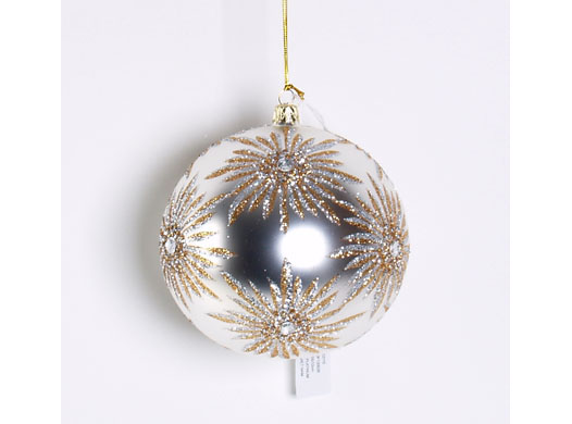 JEWELED STARBURST ORNAMENT