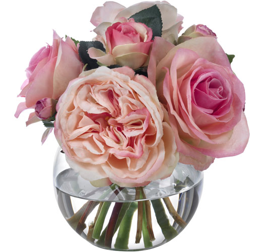 SMALL PINK ROSE BOUQUET