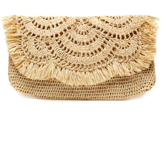 GISELLE CLUTCH - NATURAL