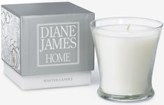 Diane James Winter Candle