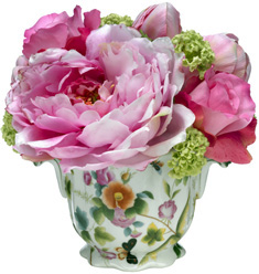 Diane James Spring Porcelain Bouquet
