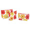 Diane James Gerber Daisy Zip Bags / Set of 3