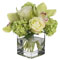 Diane James Small Hydrangea and Orchid Bouquet