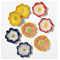 Diane James Daisy Flower Plates / Set of 8